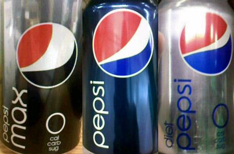 Pepsi Yeni Logolu Kutular