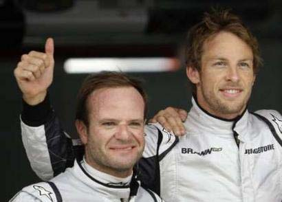 Rubens Barrichello - Jenson Button