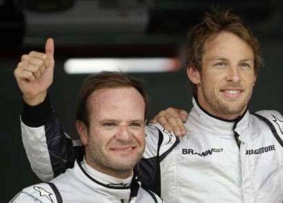 Rubens Barrichello - Jenson Button