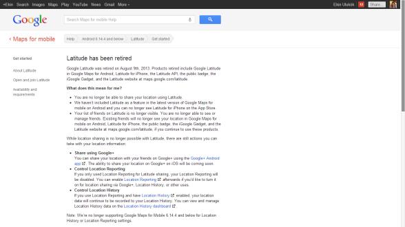 Google-Latitude-uygulamasi-kapatildi