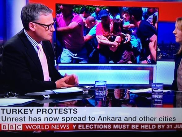 Turkey Protests BBC TV World News